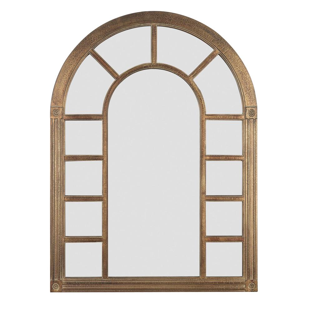 Kenroy Home 60014 Cathedral Wall Mirror in Bronze Finish