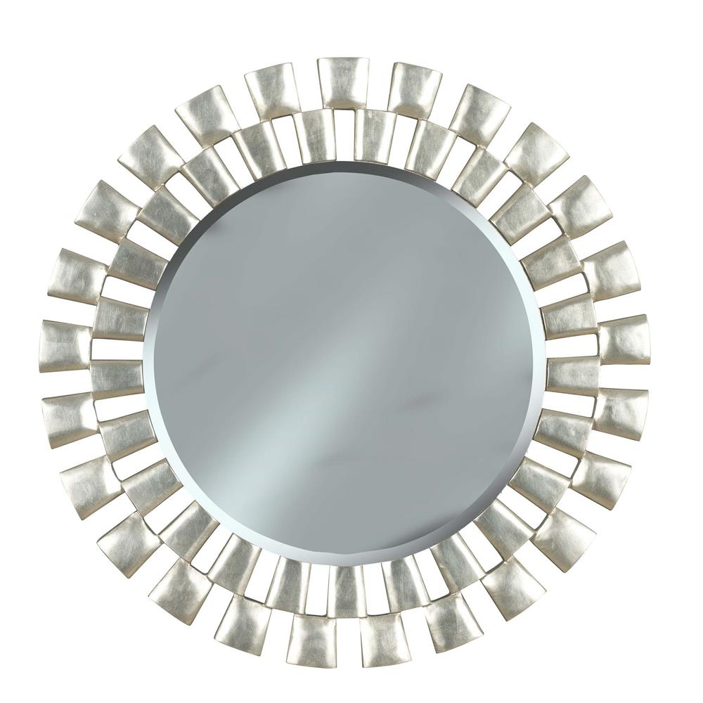 Kenroy Home 60019 Gilbert Wall Mirror in Silver Finish