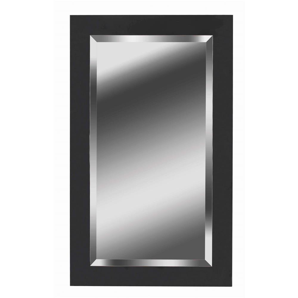 Kenroy Home 60095 Black Ice Mirror in Black Ice Finish