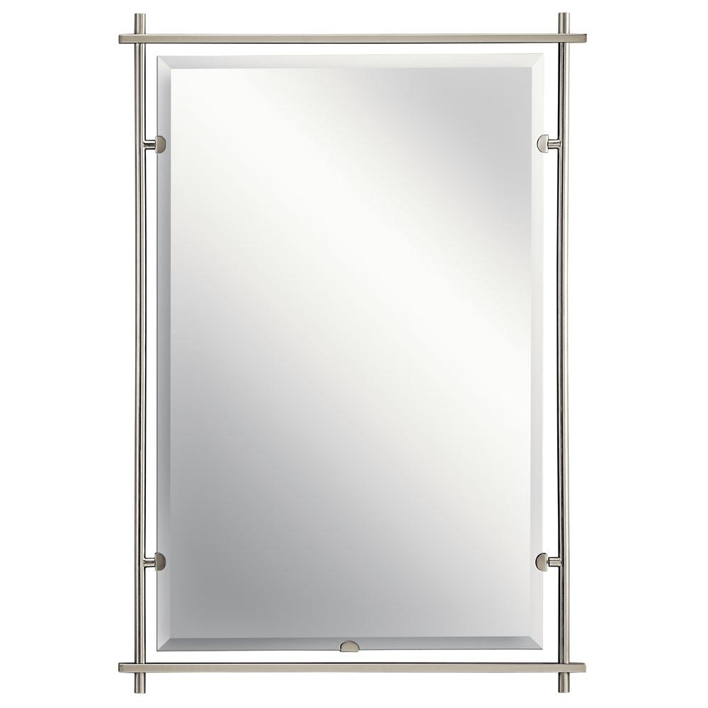 Kichler WESTWOOD 41096NI Mirror in Brushed Nickel