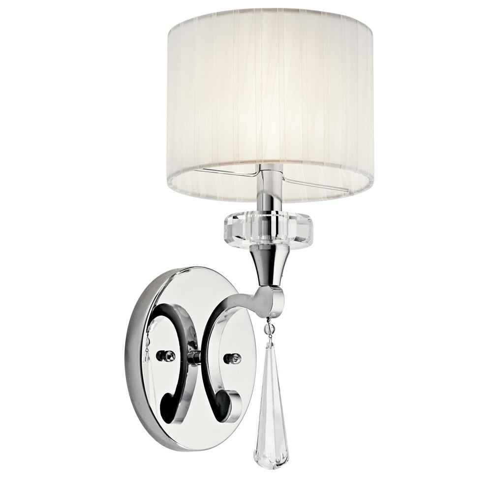 Kichler 42634CH Wall Sconce 1 Lt in Chrome