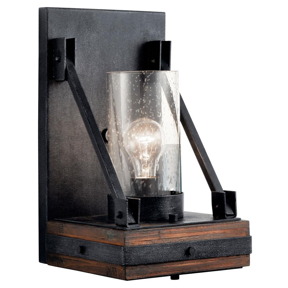Kichler 43436AUB Colerne Wall Sconce 1Lt in Auburn Stained Finish