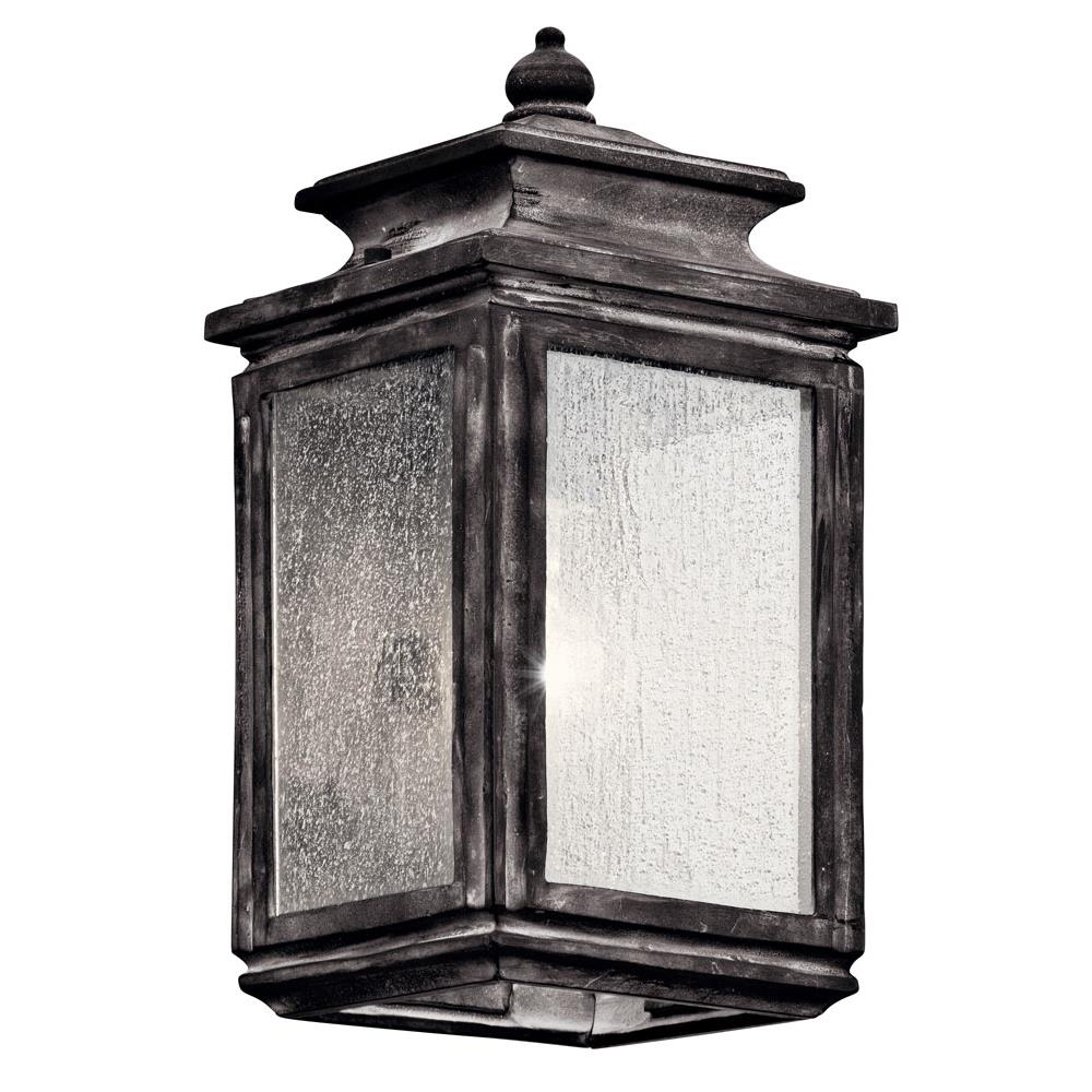 Kichler 49501WZC Wiscombe Park Outdoor Wall 1Lt in Weathered Zinc
