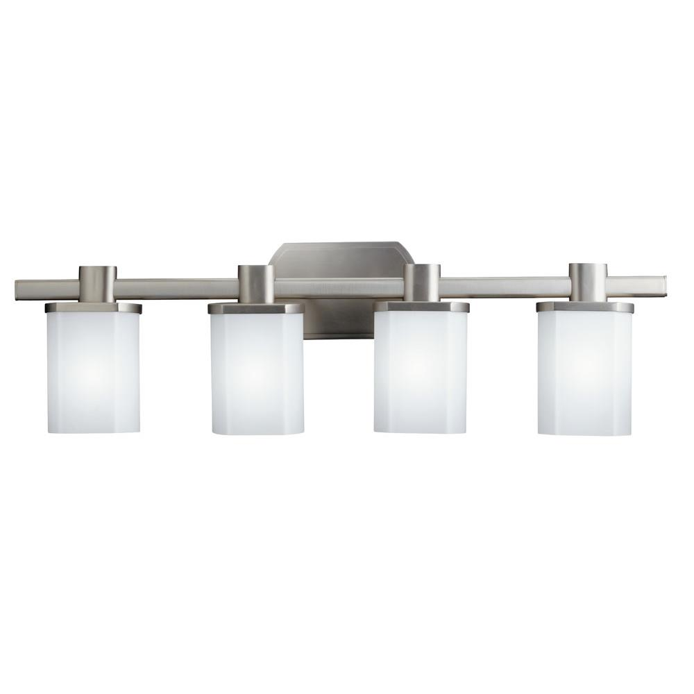 Kichler 5054NI Bath 4 Lt in Brushed Nickel