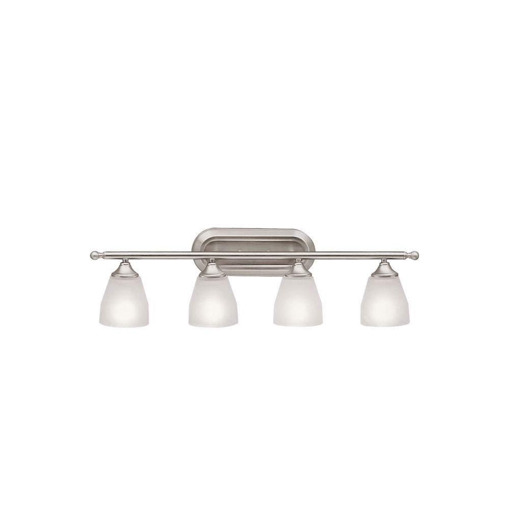 Kichler BUILDER 5449NI Bath 4 Lt in Brushed Nickel