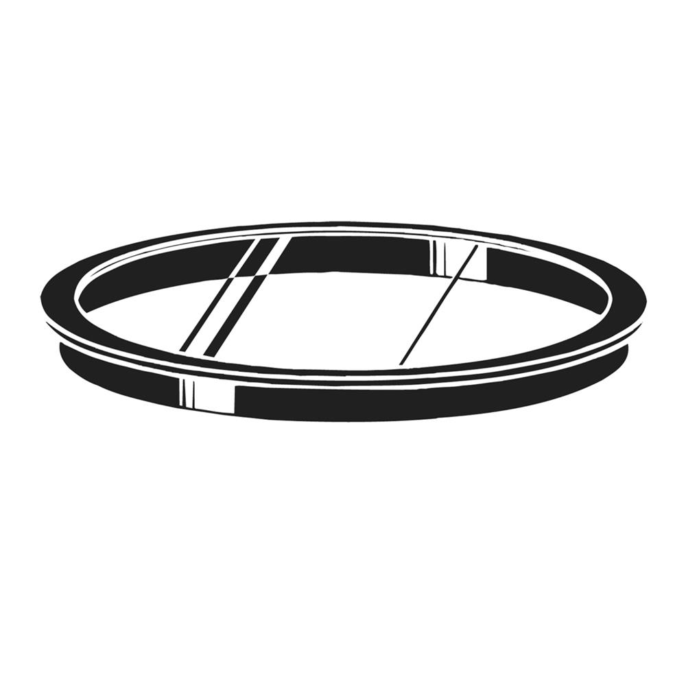 Kichler 9536BK Accessory Lens in Black Material (Not Painted)