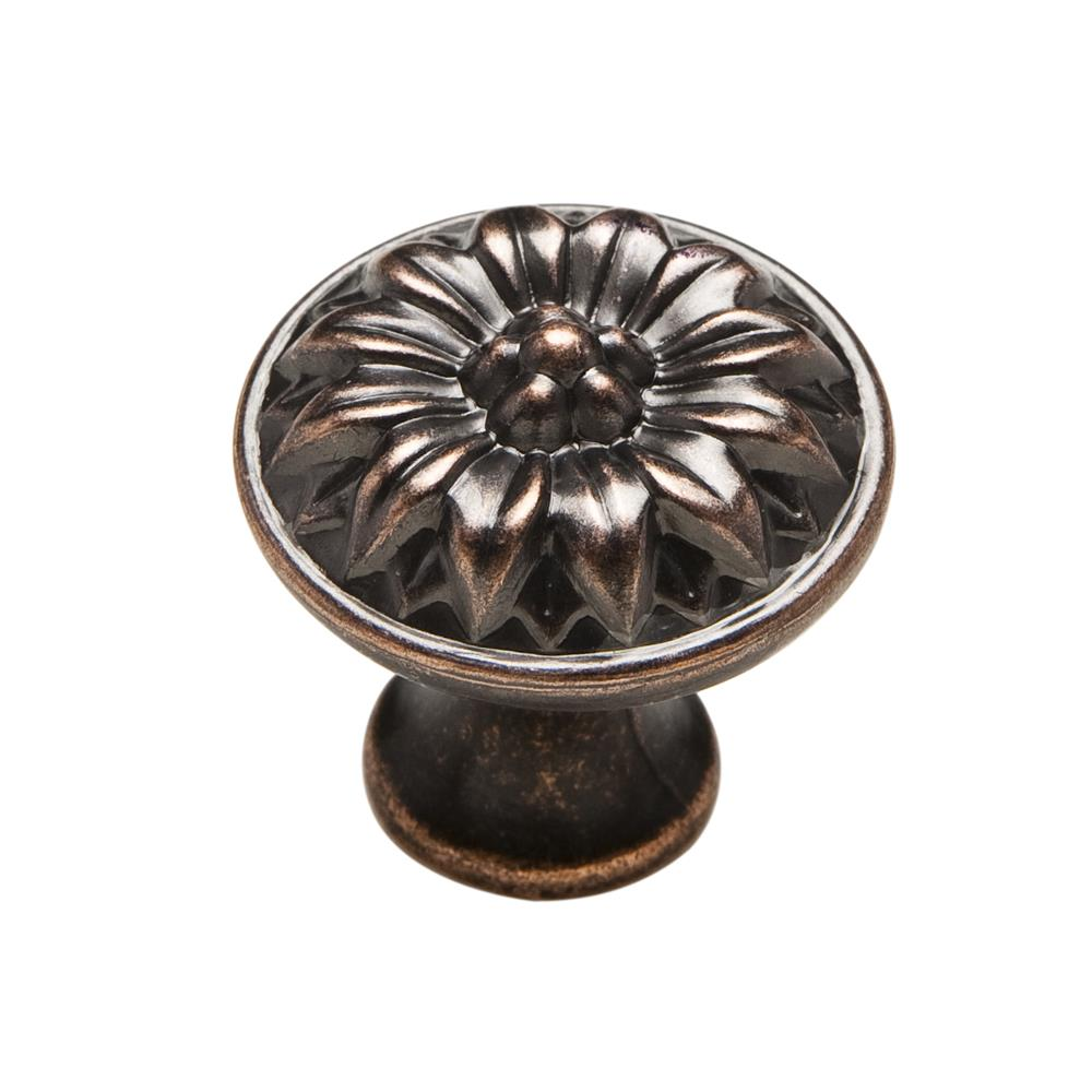 "Knobware C5060-1_1-8IN-VB Vintage American Knob 1.13"" Diameter in Venetian Bronze"