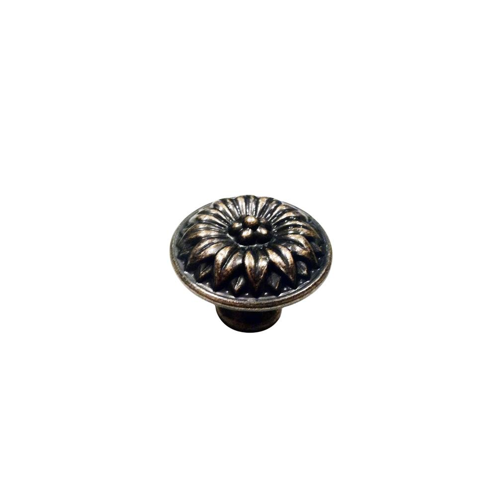 "Knobware C5060-1_3-8IN-VB Vintage American Knob 1.38"" Diameter in Venetian Bronze"