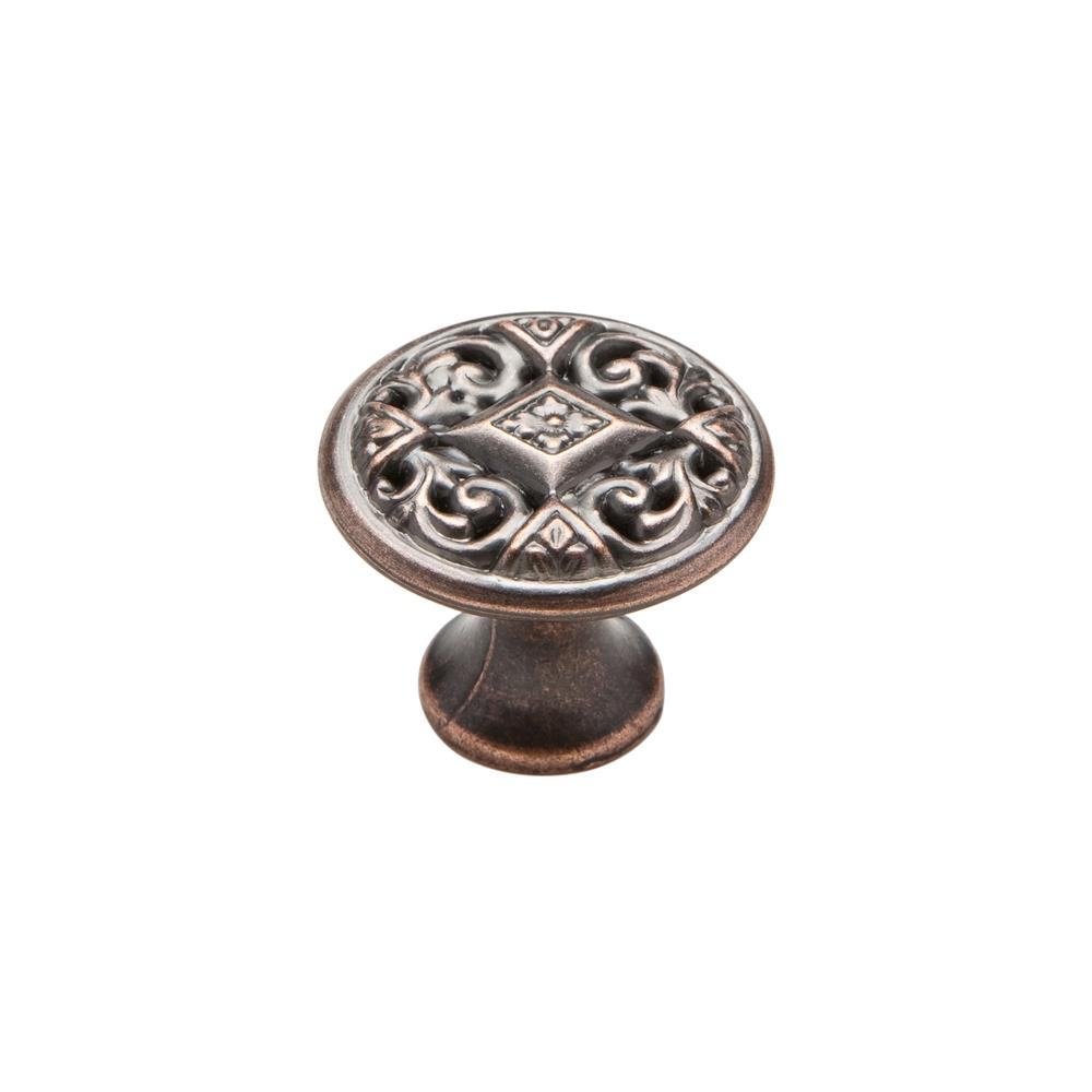 "Knobware C5349-1_1-8IN-VB Vintage American Knob 1.13"" Diameter in Venetian Bronze"