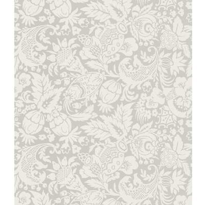 Kravet Design W3098.11 Color At Home Wallpaper In Light Grey