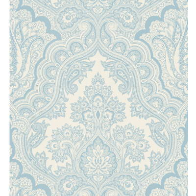 Kravet Design W3100.15 Color At Home Wallpaper In Blue