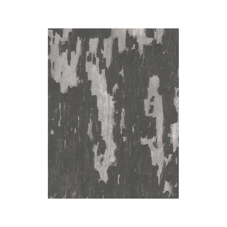 Kravet Couture Amw10004.21 Crackle Wallpaper In Charcoal