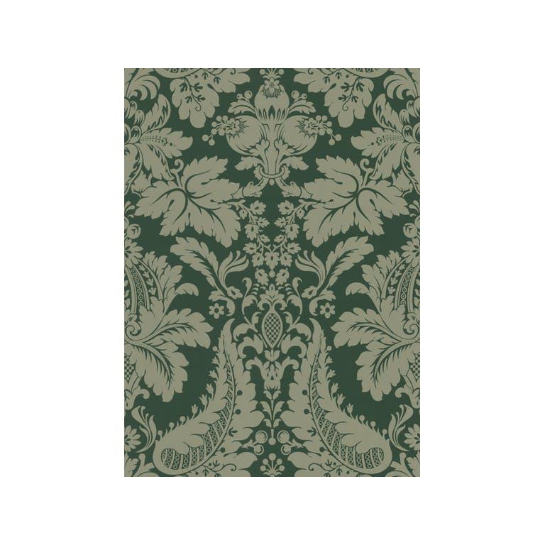 Kravet Design W3095.616 Color At Home Wallpaper In Dark Green