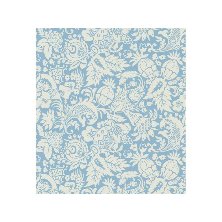Kravet Design W3098.15 Color At Home Wallpaper In Blue