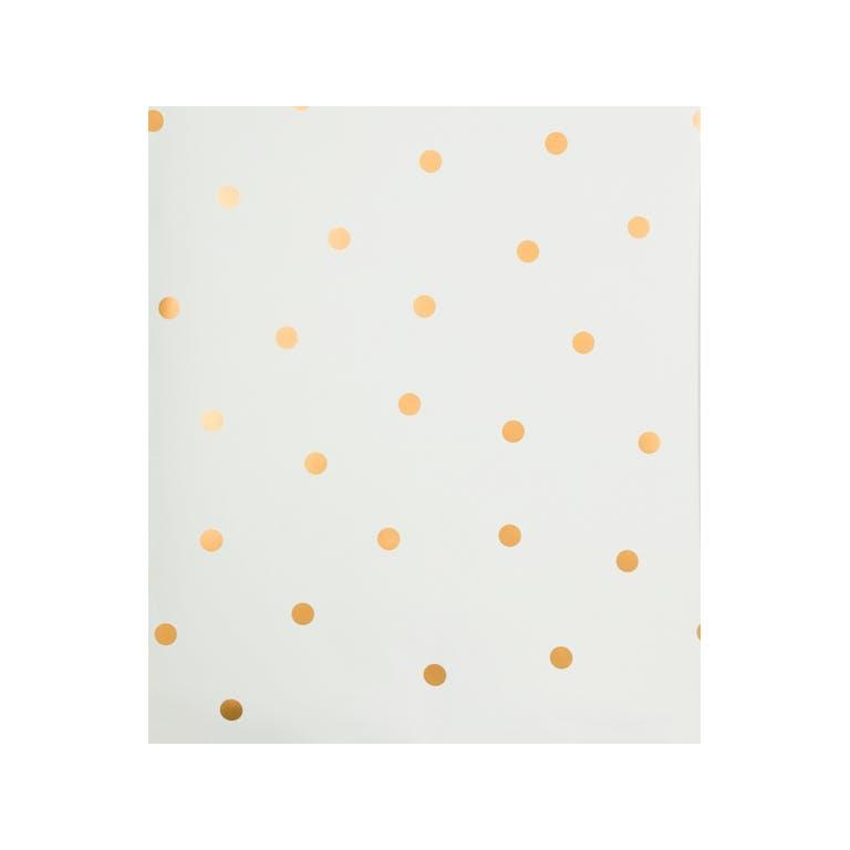 Kravet Design W3325.4 Shadow Dot Wallpaper In Gold