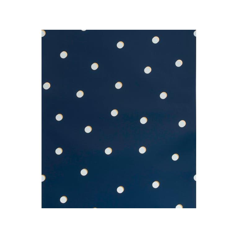 Kravet Design W3325.450 Shadow Dot Wallpaper In Navy