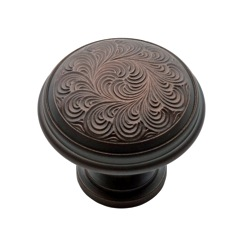 LB Brass 1287310 Cabinet knobs in Old Bronze