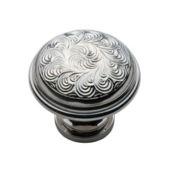 LB Brass 1287314 Cabinet knobs in Polished Nickel