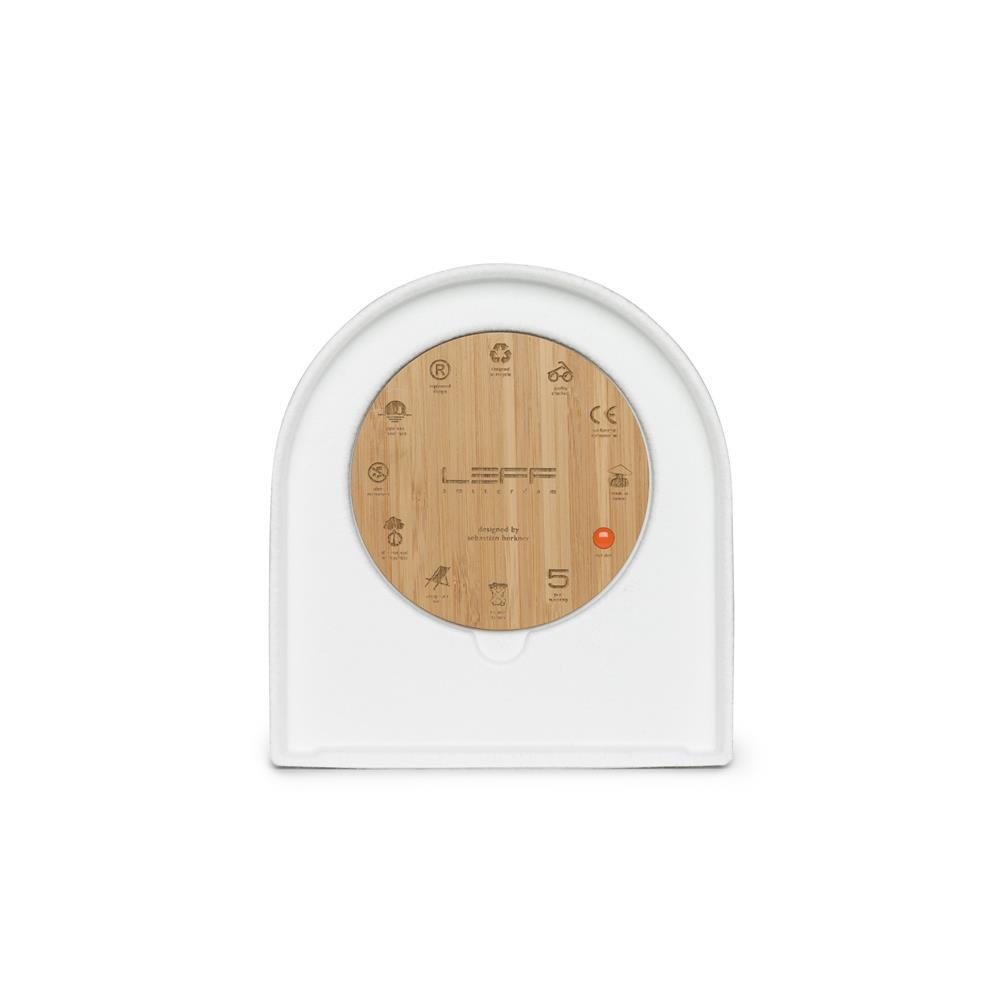 Leff Amsterdam LT17011 Rhythm table clock felt two white with black hands