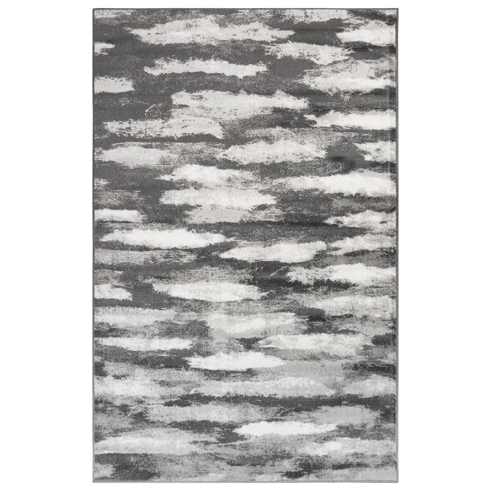 Liora Manne 2851/47 Aurora Vista Indoor Rug in Grey 3 ft. 3 in. X 4 ft. 9 in.