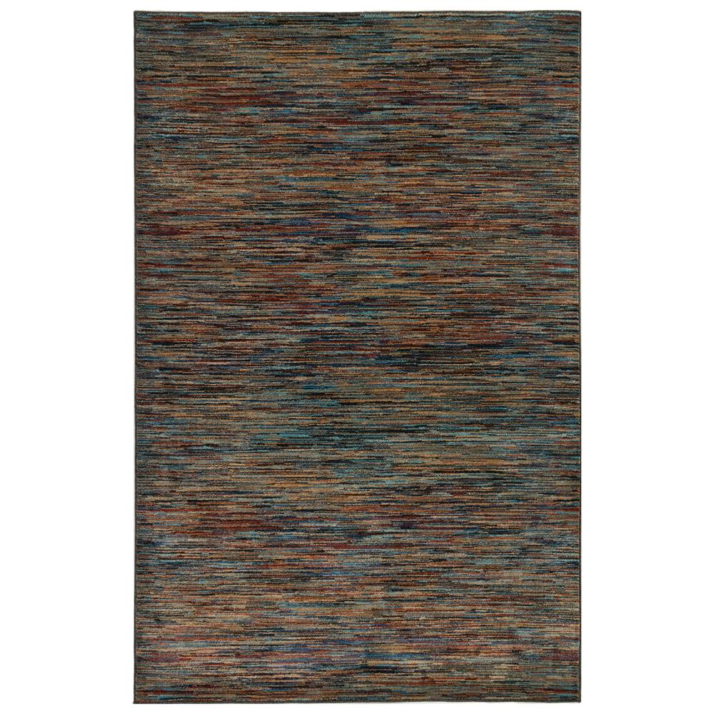 Liora Manne 8132/44 Ashford Stripe Indoor Rug in Multi 3 ft. 3 in. X 4 ft. 9 in.