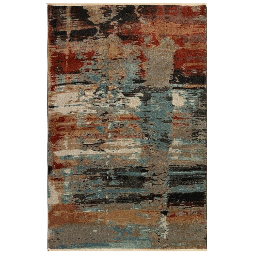 Liora Manne 8134/44 Ashford Abstract Indoor Rug in Multi 3 ft. 3 in. X 4 ft. 9 in.