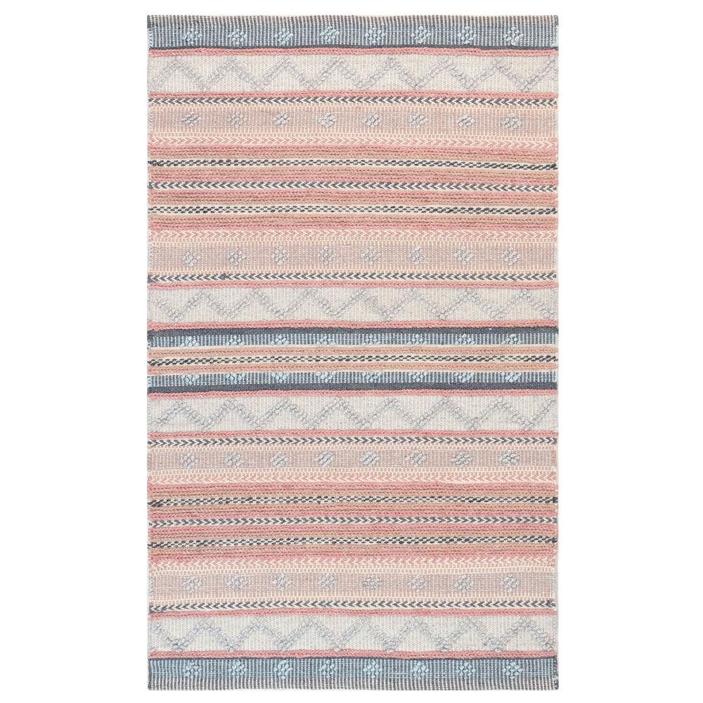 "Liora Manne 8271/12 Cosmos Gypsy Stripe Indoor/Outdoor Rug Pastel 42""X66"""