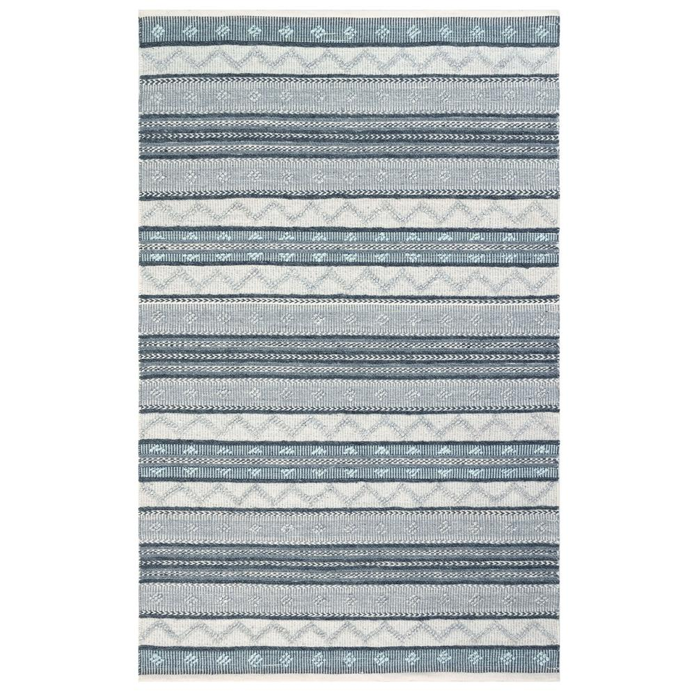"Liora Manne 8271/47 Cosmos Gypsy Stripe Indoor/Outdoor Rug Grey 42""X66"""