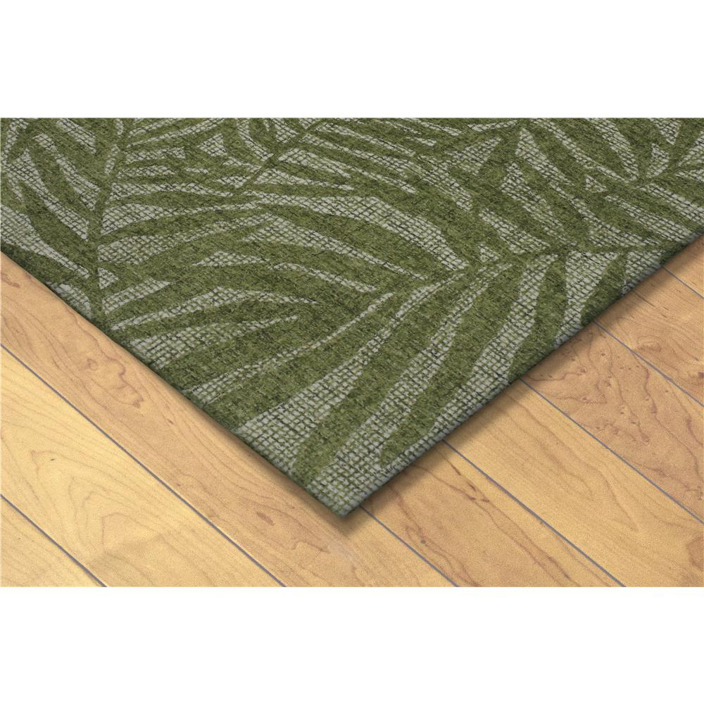 "Liora Manne 9500/06  Savannah Olive Branches Indoor Rug Green 24""X36"""