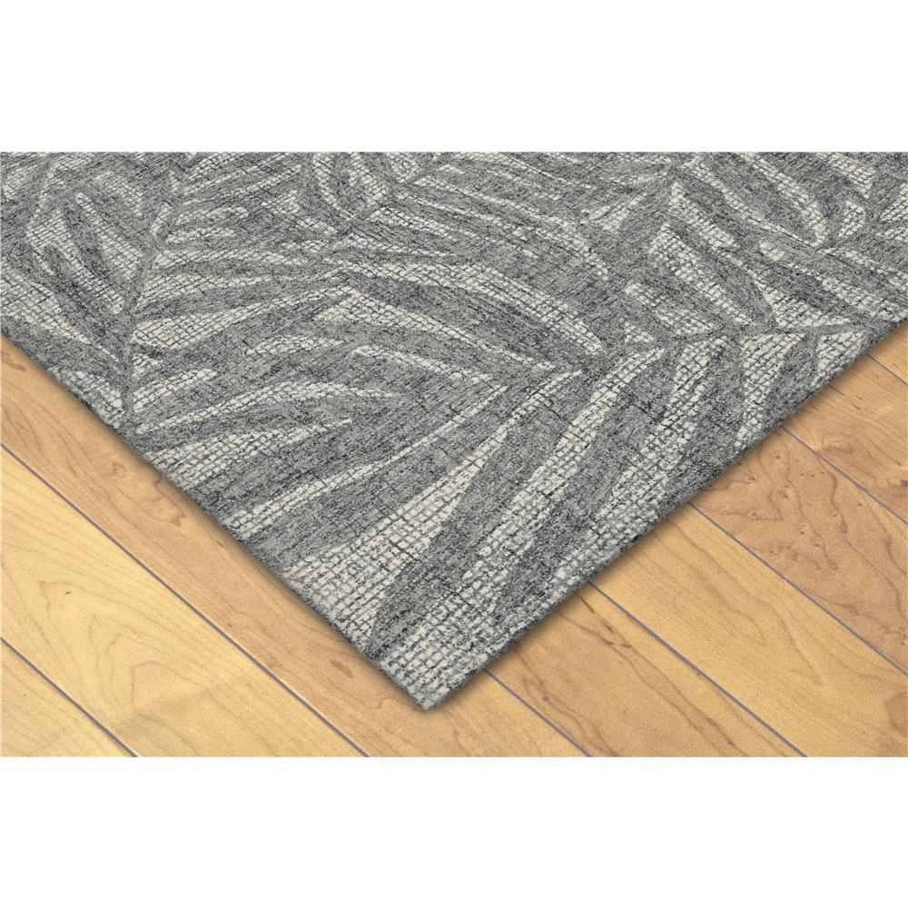 "Liora Manne 9500/19  Savannah Olive Branches Indoor Rug Grey 42""X66"""