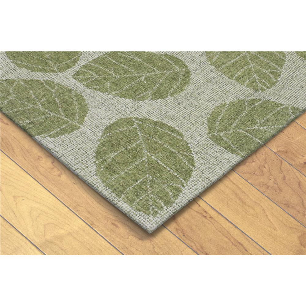 Liora Manne 9502/06  Savannah Leaf Indoor Rug Green 5