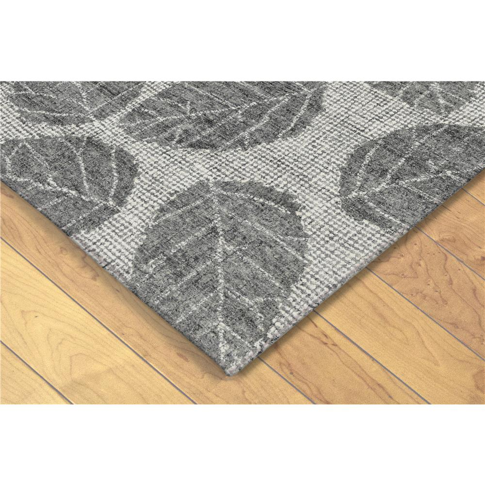 Liora Manne 9502/19  Savannah Leaf Indoor Rug Grey 5