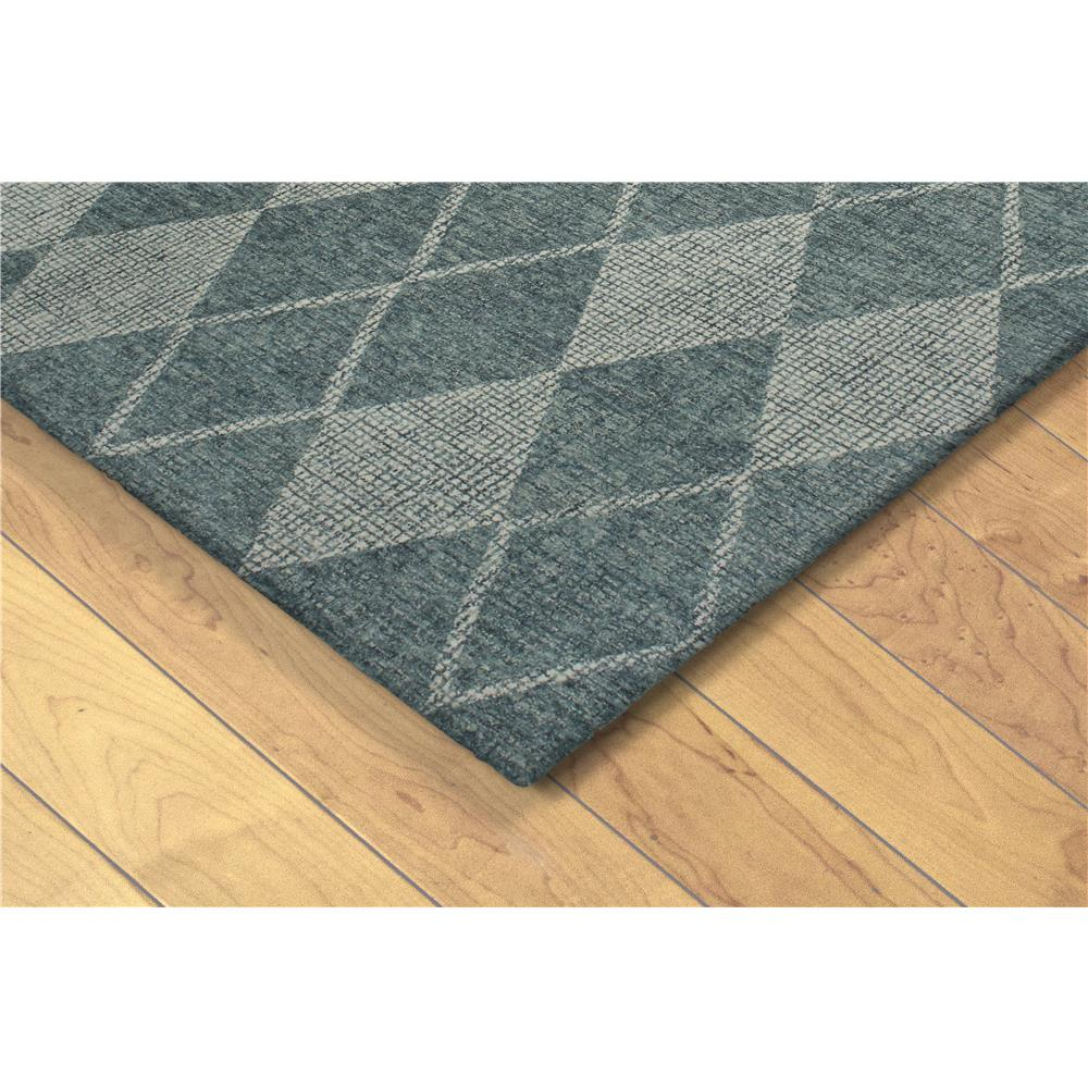 "Liora Manne 9504/04  Savannah Diamond Indoor Rug Green 42""X66"""