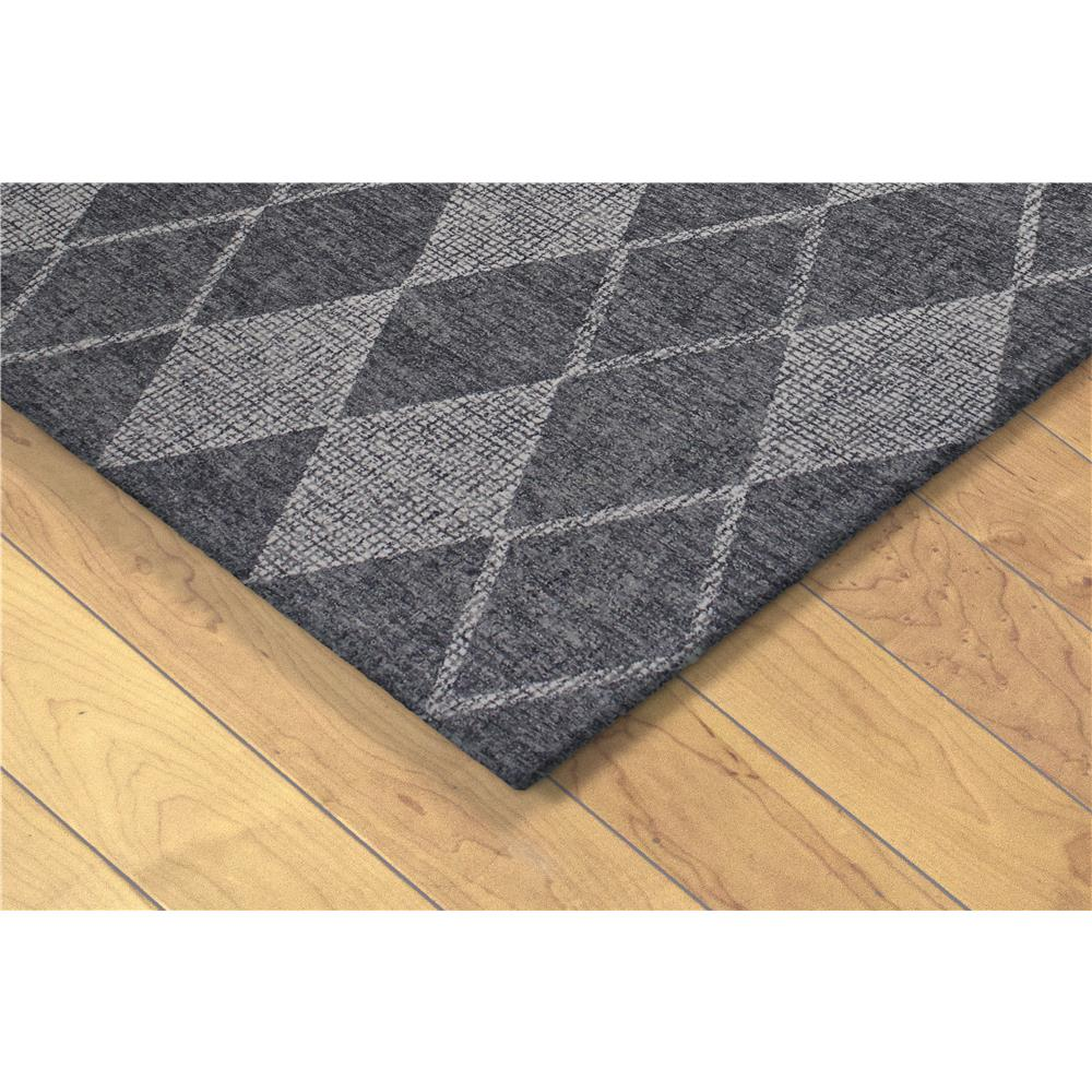 "Liora Manne 9504/19  Savannah Diamond Indoor Rug Grey 42""X66"""