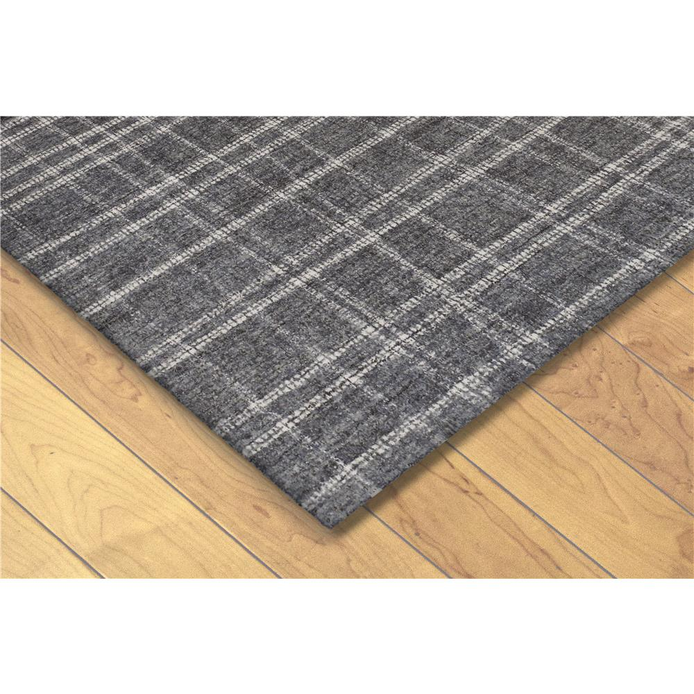 "Liora Manne 9506/19  Savannah Mad Plaid Indoor Rug Grey 24""X36"""