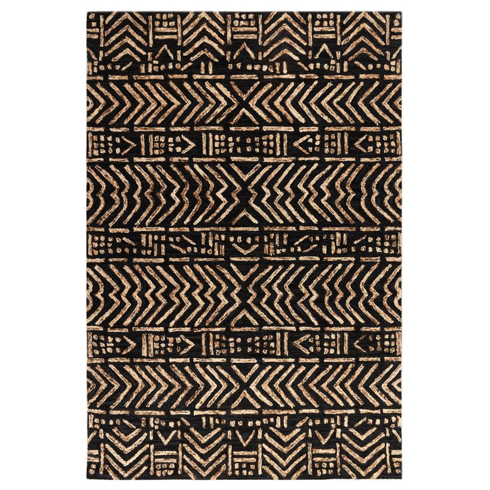 Liora Manne 7880/19 Cyprus Batik Indoor Rug in Brown 3 ft. 6 in. X 5ft. 6 in.