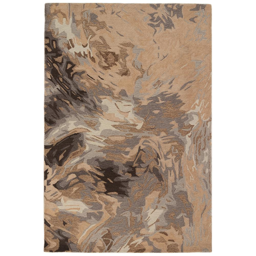 Liora Manne 9151/12 Corsica Storm Indoor Rug in Natural 3 ft. 6 in. X 5ft. 6 in.