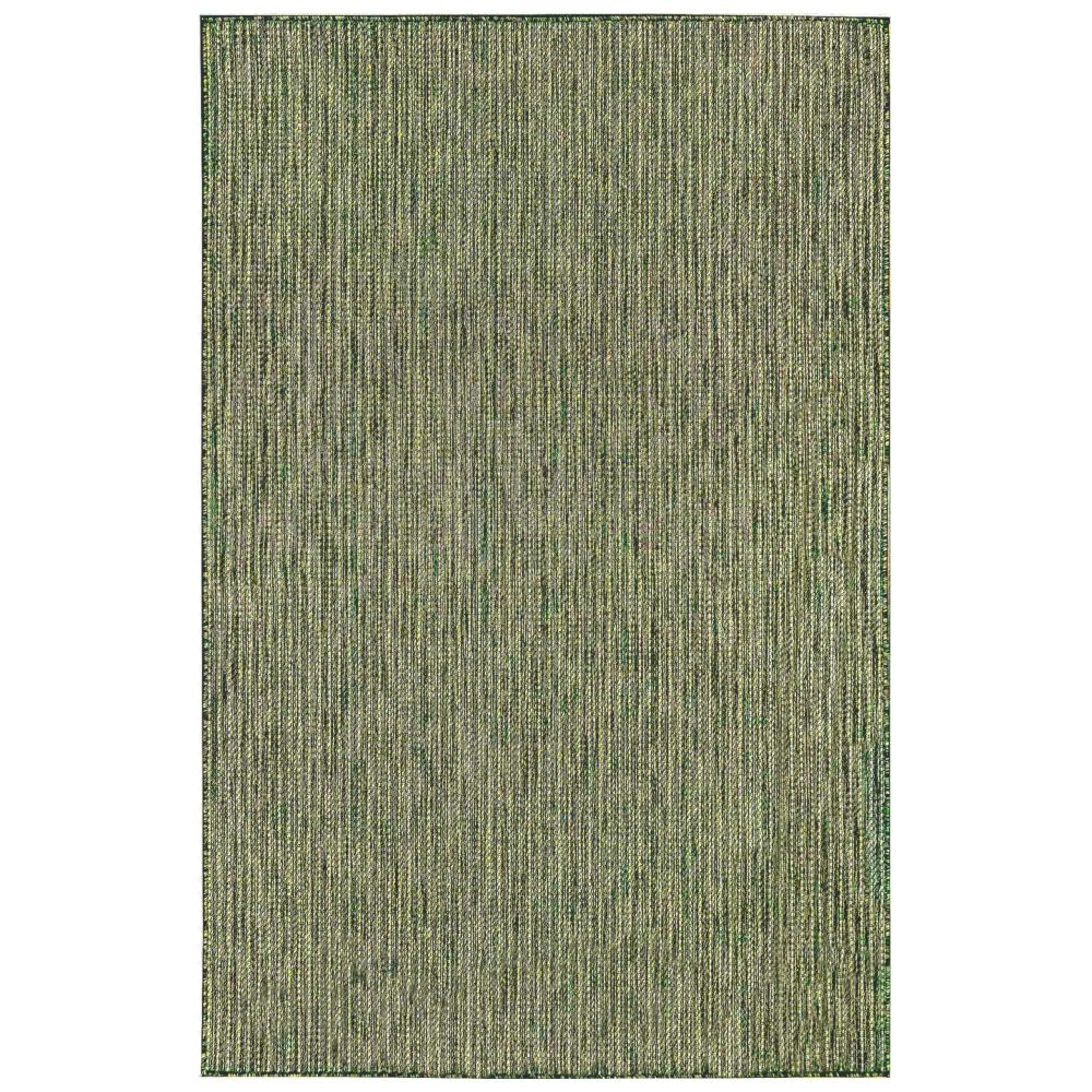"Liora Manne 8422/06 Carmel Texture Stripe Indoor/Outdoor Rug Green 39""X59"""