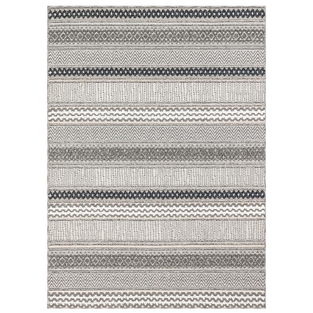 "Liora Manne 6540/44 Cove Tribal Stripe Indoor/Outdoor Rug Multi 39""X59"""