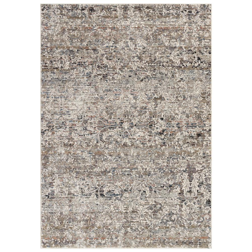 Liora Manne 2676/12 Laurel Damask Indoor Rug in Ivory 1 ft. 9 in. X 3 ft.