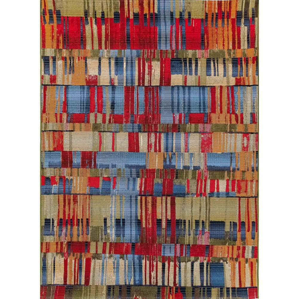 "Liora Manne 8036/44 Marina Paintbox Indoor/Outdoor Rug Multi 39""X59"""
