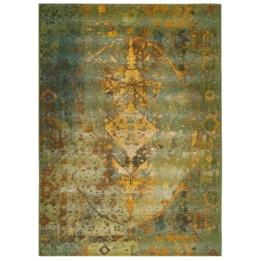 "Liora Manne 8043/06 Marina Kermin Indoor/Outdoor Rug Green 39""X59"""