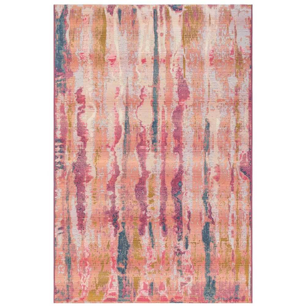 "Liora Manne 8048/37 Marina Reflection Indoor/Outdoor Rug Blush 39""X59"""