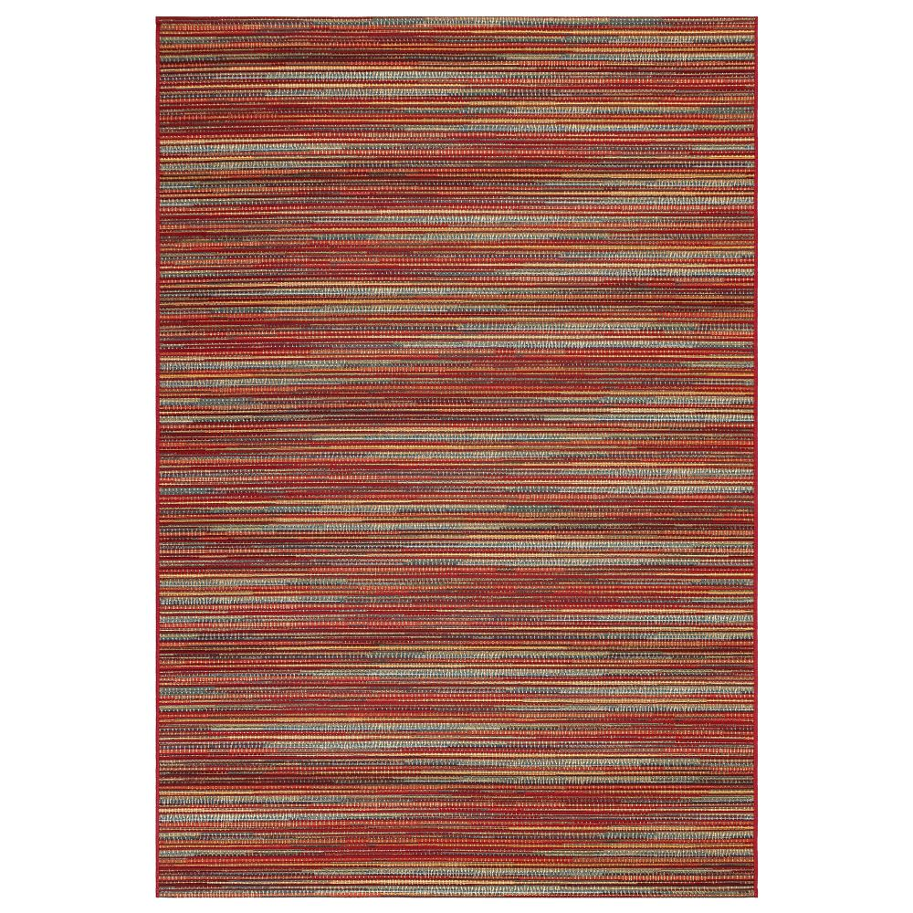 "Liora Manne 8052/17 Marina Stripes Indoor/Outdoor Rug Saffron 39""X59"""