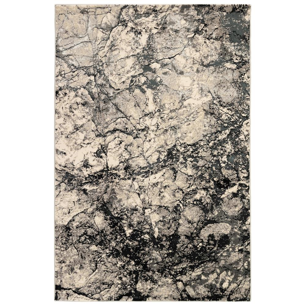 Liora Manne 8583/47 Taos Granite Indoor Rug in Grey 3 ft. 2 in. X 4 ft. 9 in.