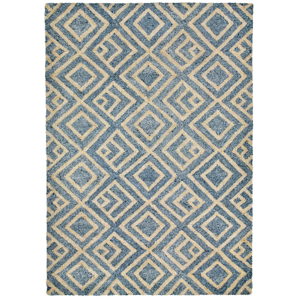 Liora Manne 6853/33 Wooster Kuba Indoor/Outdoor Rug Blue 5