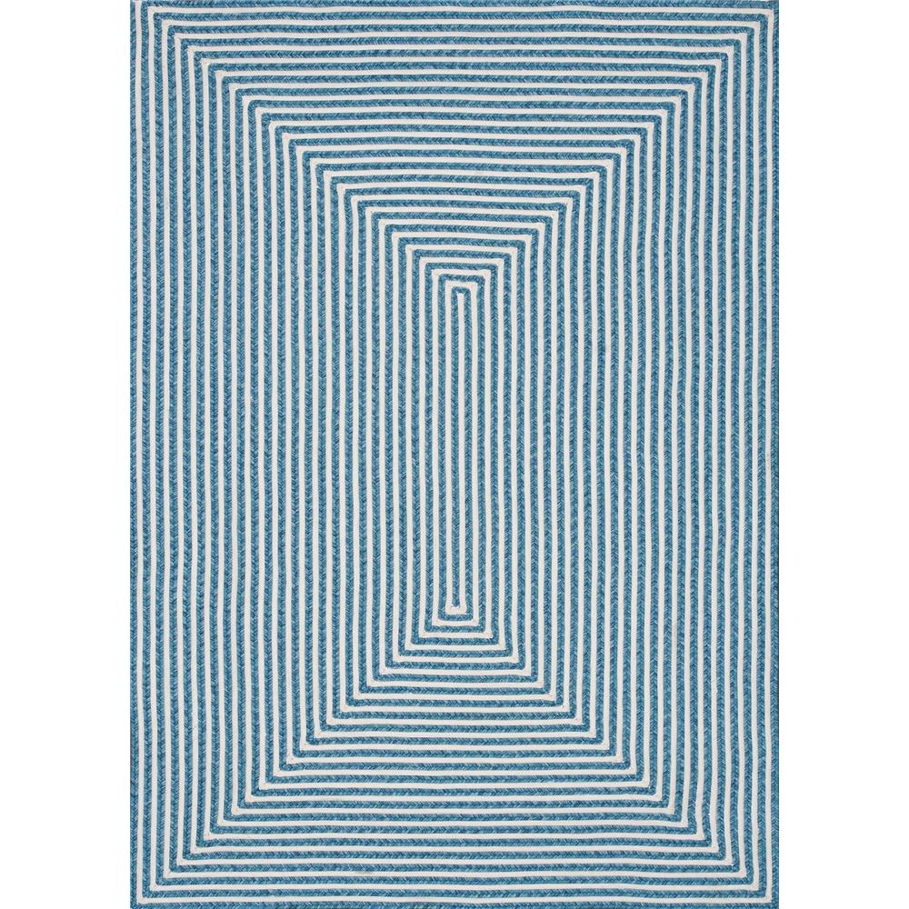 Loloi Rugs IO-01 In/Out Aqua Indoor/Outdoor Area Rug in 5