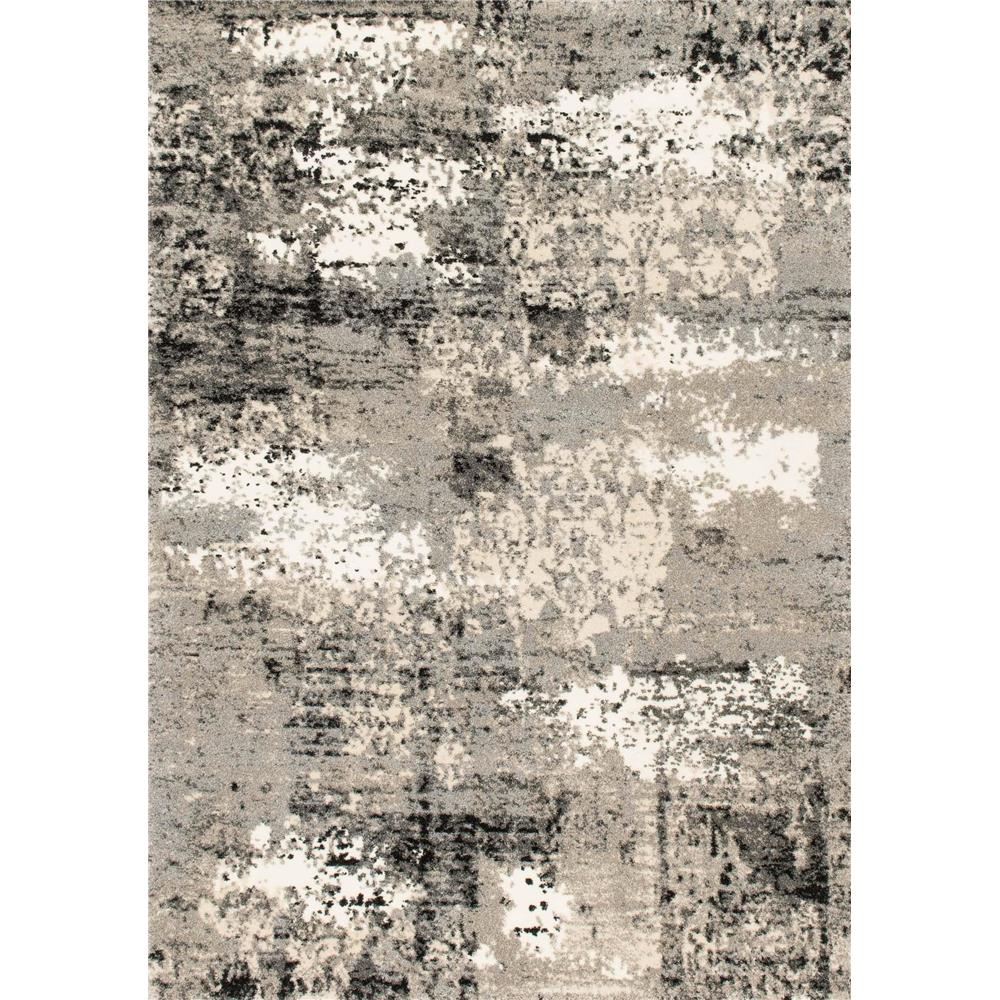 Loloi Rugs VR-04 Viera Grey Contemporary Area Rug in 8