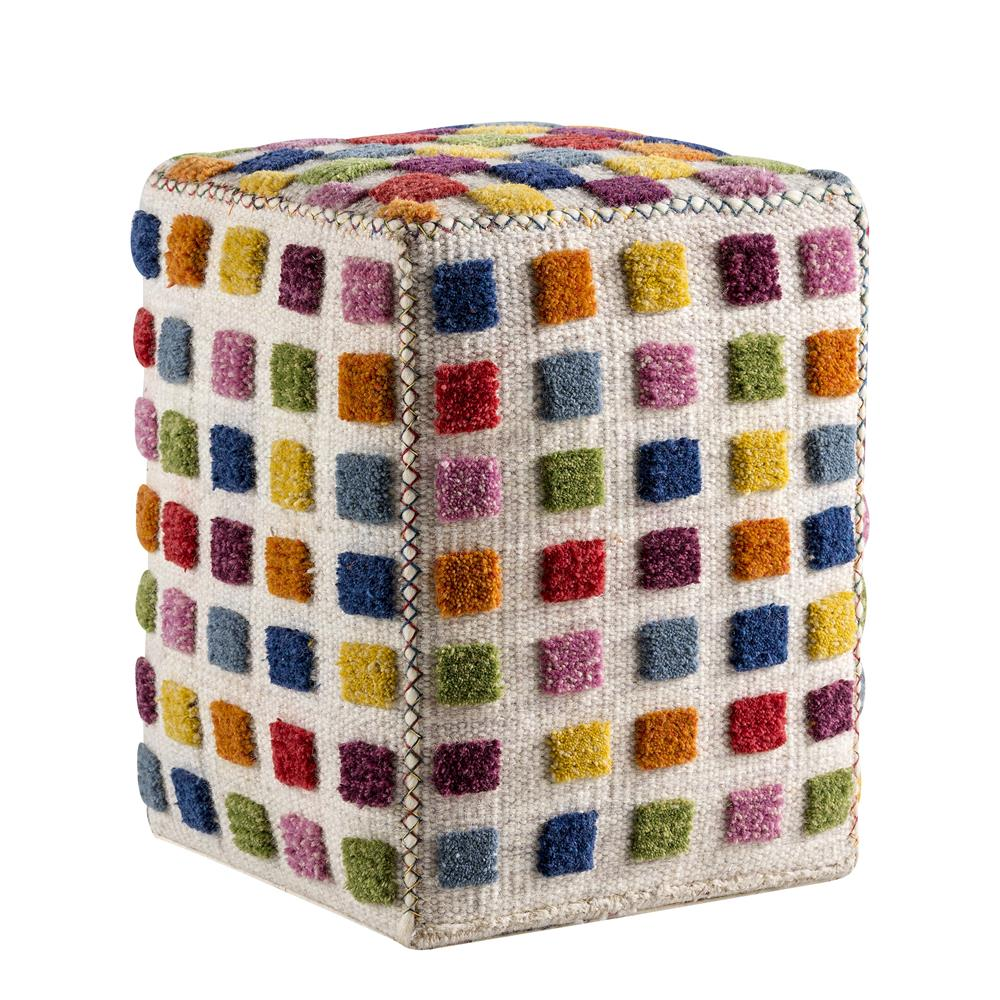 "MAT The Basics by MA Trading Gemma 20""x16""x16"" Pouf"