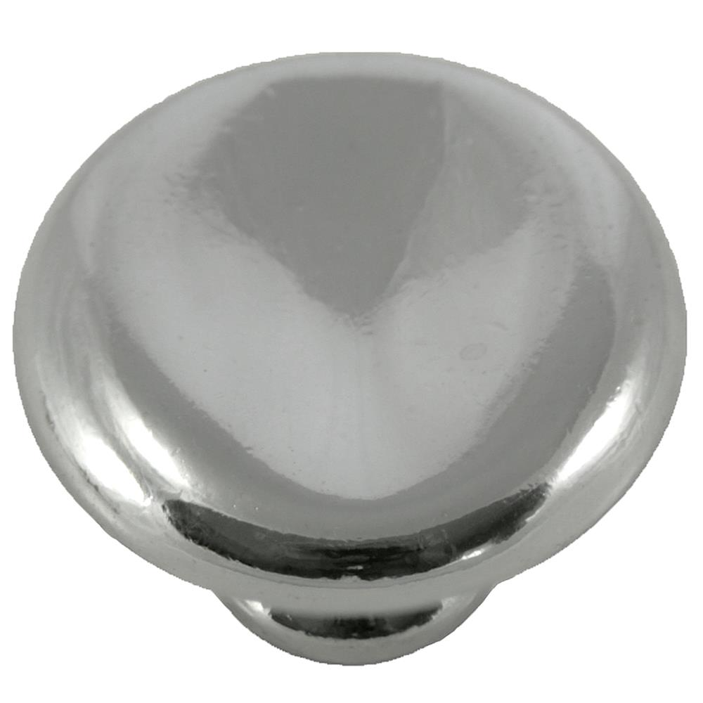 "MNG Hardware 16414 1 1/2"" Thumbprint Potato Knobs - Polished Nickel"